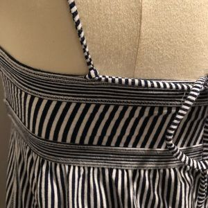 American Eagle Outfitters Tops - Black and white stripped shirt